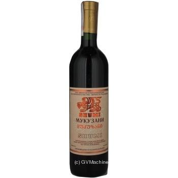 Вино Shumi Мукузані 12% 0,75л