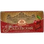 Chocolate Confectionary concern babaevsky cherry with filling 41% 100g Russia