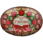 Candy Sorіnі Jadore chocolate with filling 340g packaged Italy