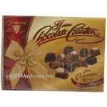 Набор шоколадных конфет Solidarnosc Золотое шоколадное творение 228г