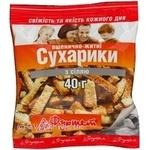 Сухарики пшенична сіль 40г Україна