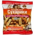 Сухари ржано-пшеничная со вкусом сметаны 40г Украина