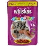 Whiskas With Chicken In Sause For Kittens Food - buy, prices for Furshet - image 6