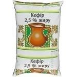 Кефир Вита 2.5% 900г пленка Украина