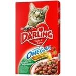Корм для котів сухий Darling Кріль та овочі 400г
