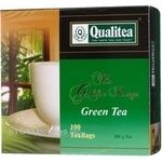 Зеленый чай Кволити цейлонский в пакетиках 100х2г Украина