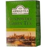 Чай зелений крупнолистовой Ahmad 100г