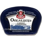 Fish herring Arkom pineapple pickled 300g Ukraine