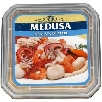 Salad seafood pickled 550g Italy