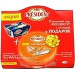 Сыр Президент плавленный 45% 400г Россия