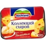 Cheese emmental Hochland Cheese collection processed 175g Russia