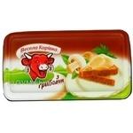 Сыр Вэсэла коривка плавленый с грибами 60% 180г ванночка