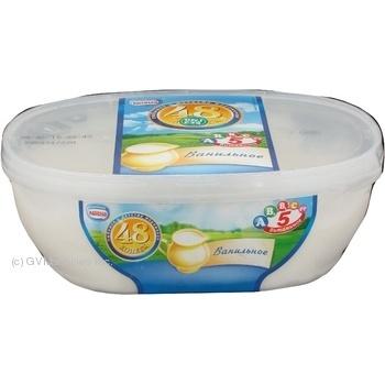 Мороженое Нестле 48 копеек ванильное 450г Россия