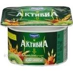 Бифидойогурт Активиа киви-мюсли 3.1% пластиковый стакан 115г Украина