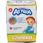 Продукт кисломолочный Агуша стерилизованная для детей 10% 200мл тетрапакет