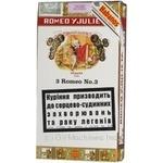 Сигареты Ромео и джульетта 25г Куба