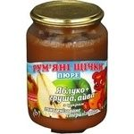 Puree Rumyanye shchechki quince pear for children 250g Ukraine