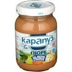 Пюре Карапуз из яблок персиков и творога для детей с 4 месяцев 200г