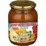 Puree Rumyanye shchechki pear for children 250g Ukraine