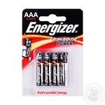 Батарейка Energizer Base щелочная AAA LR3 4шт