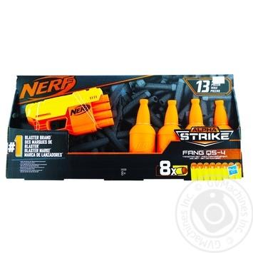 Ігровий набір Nerf Альфа Страйк Фанг QS 4 арт.Е8308 - купить, цены на МегаМаркет - фото 1