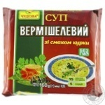 Chudova Vermicelli Soup with Chicken Flavor 160g - buy, prices for MegaMarket - image 1
