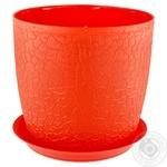 Idea Verona Red Flowerpot 14cm