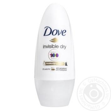 Антиперспірант Dove Невидимий для жінок 50мл - купити, ціни на Novus - фото 2