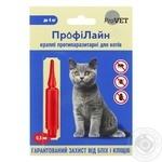 Pryroda ProfiLine Anti-parasitic Drops for Cats up to 4kg 1pcs.x0.5ml