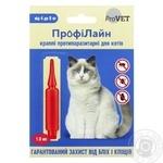 Краплі протипаразитарні Природа ПрофіЛайн для котів 4-8кг 1шт.х1мл