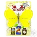 Зажим для пакетов Шинковенко бабочка - купить, цены на МегаМаркет - фото 1