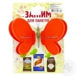 Зажим для пакетов Шинковенко бабочка - купить, цены на МегаМаркет - фото 2