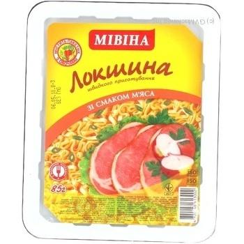 Макароны лапша Мивина 85г Украина
