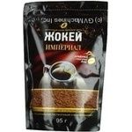 Natural instant sublimated coffee Jockey Imperial Arabica 95g Russia