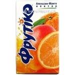 Reconstituted nectar with sugar Frutico orange and mango tetra pak 1000ml Ukraine