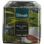 Tea Dilmah Earl grey black 125g can Sri-lanka