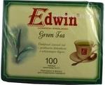 Чай зелений листовий Green Tea Edwin пакет з/я 2г*100шт