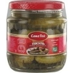 Vegetables cucumber Same toi Chow-chow pickled 440g glass jar Ukraine