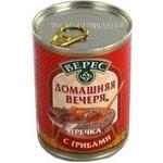 Консерва Верес грибы консервированная 350г железная банка Украина