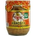 kidney bean Zdorovo canned 500g glass jar Ukraine
