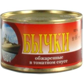 Бычки IRF в томатном соусе 230г - купить, цены на СитиМаркет - фото 3