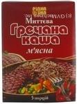 Каша гречневая Ридна Ижа Мясная быстрого приготовления 5 порций 200г Украина