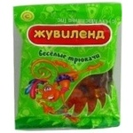 Candy Zhuvilend Veseli tryukachi 100g packaged Ukraine