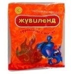Candy Zhuvilend Afrikanzi v tanzi 100g packaged Ukraine