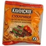 Сухари Клинские ржаная с шашлыком 40г Украина
