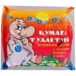 Туалетний папір Незабудки з экстр.ромашки й алое 30шт. х15