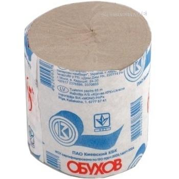 Туалетная бумага Обухов 65м - купить, цены на Novus - фото 3