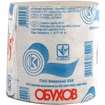 Туалетная бумага Обухов 65м - купить, цены на Novus - фото 4