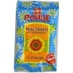 Seeds Sontse sunflower salt salt 80g Ukraine