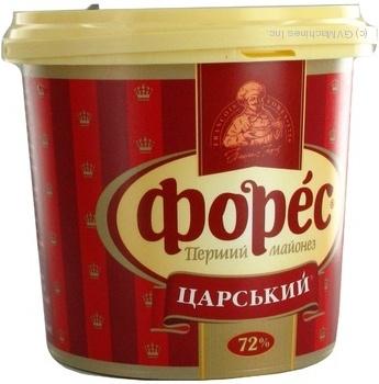 Майонез Форес Царский 72% 1000г ведро Украина